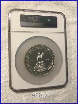 1987 Namibia Elephant 5 OZ. 999 Silver Coin PF 67 Ultra Cameo NGC