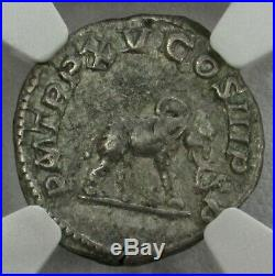 198 217 Ad Silver Roman Denarius Caracalla Elephant Coin Ngc Choice Vf 5/4