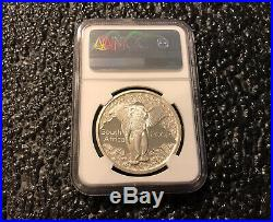 2002 South Africa 20 Cent Elephant 1 OZ Silver Coin NGC PF 70 UC