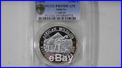 2006 Somalia Elephant Silver Proof coin