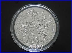 2009 RWANDA 50 Amafaranga AFRICAN OUNCE ELEPHANT SILVER 1oz coin