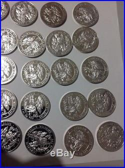 2012 Somali Elephant Coins. 20 X 1 Oz Silver Coins. African wildlife Series