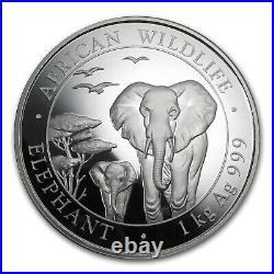 2015 Somalia 1 kilo Silver Elephant SKU #84838
