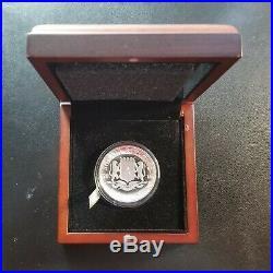 2016 Somali Republic High Relief Proof Silver Elephant 1 Oz Coin Somalia OGP COA