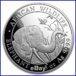 2018 Somalia 5 oz Silver Elephant BU SKU#154018