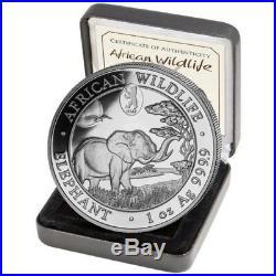 2019 ELEPHANT Privy Mark WMF BERLIN Bear- 1 oz. 9999 silver coin COA+Box