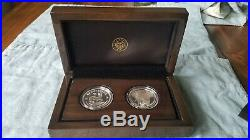 2019 Silver Proof Krugerrand & Big 5 Elephant 2 Coin Set VERY LIMITED