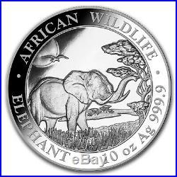 2019 Somalia 10 oz Silver Elephant BU SKU#170454