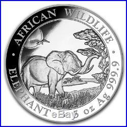 2019 Somalia 5 oz Silver Elephant BU SKU#170453