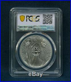 2019 South Africa Big Five Elephant 5 Rand Pcgs Ms70 Gold Shield Last One