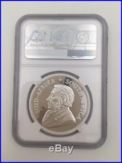 2019 South Africa Silver Krugerrand PF69 1 oz elephant Privy Big five Coin FR