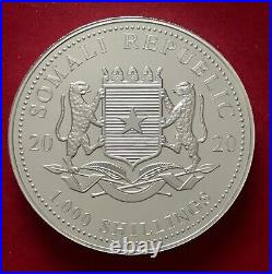 2020 SOMALIA ELEPHANT 10oz. 9999 COIN only 500 MINTAGE LIMITED bullion silver