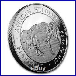2020 Somalia 10 oz Silver Elephant BU SKU#200138