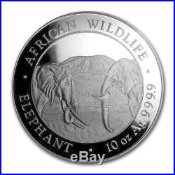 2020 Somalia 7-Coin Silver Elephant First Struck Collection SKU#200137