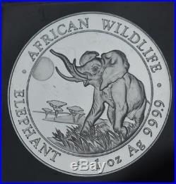 20 x Somali Elephant 1oz Silver Bullion 2016 Coins