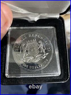 Black Ruthenium 2015 1oz Elephant Lovely Coin