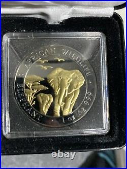 Black Ruthenium 2015 1oz Elephant Rare
