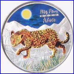 Congo 2008 Big Five Coin Lion Elephant Rhinoceros Buffalo Leopard NGC SET