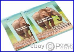 ELEPHANT Animal Champion 1 Oz Silver Coin 1$ Niue 2020