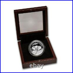 ELEPHANT High Relief 1 oz Silver Proof Coin Somalia 2021