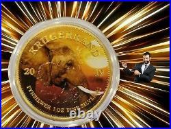 ELEPHANT Krugerrand Big Five 1 Oz Silver Coin 1 Rand South Africa 2019