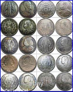 King Rama VI Three Elephant Coin B. E 2459 1 BAHT 15 grams