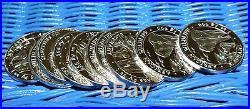 Lot of 10 x 1 Oz. 999 Silver 2015 Somali Republic Elephant Coins, B. U