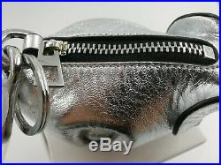 NWT Loewe elephant silver coin purse key chain key ring