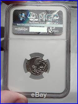Roman Republic Imperator Metellus Elephant under SULLA Silver Coin NGC i59807
