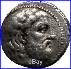 SELEUKOS I Nikator Tetradrachm Athena ELEPHANT Silver Greek Coin Seleukid i46301