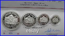 Somalia African Wildlife 2006 Elephant Silver Proof Coin Set