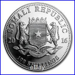 Somalia Somalian Wildlife Elephant 2016 1 oz. 999 Silver Coin 1 Tube 20 pcs