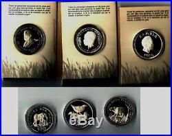 Tanzania 1986 Elephant 100 Shillings Silver Coin, Proof ZAMBIA 10 KWACHA 1986 Sil